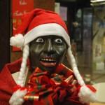 Zwarte Kerstman op Lanzarot